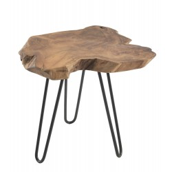 Rustico Root Lamp Table