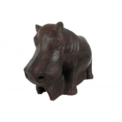 Small Terracotta Hippo