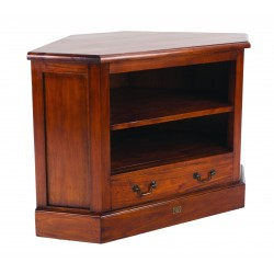 Mahogany Village Corner TV Unit top dimensions