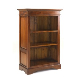 Mahogany Village Small Bookcase