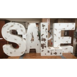 Set of Letters SALE
