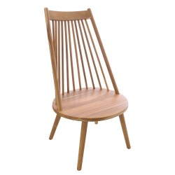 Solid Teak Tallback Chair