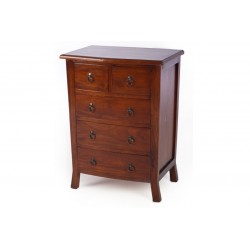 Pacific 2 over 3 Chest of Drawers