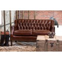 Vintage Leather Fiona Sofa