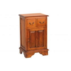 Mahogany Cupboard with 2 Drawers