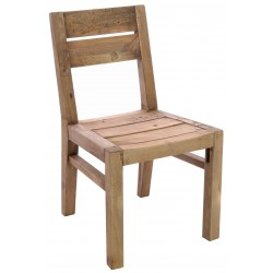 Reclaimed Pine Wooden Dining Chair