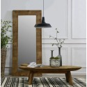 Reclaimed Pine Oval Coffee Table