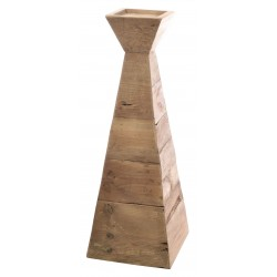 Fair Isle Tall Pyramid Candle Stand