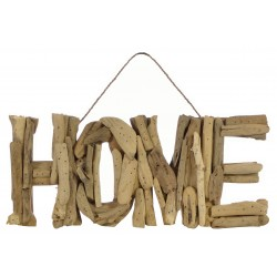 Driftwood Home Plaque
