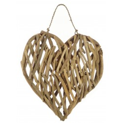 Driftwood Heart Plaque