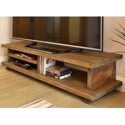 Oregon 140 TV Unit Wooden Leg - out of stock