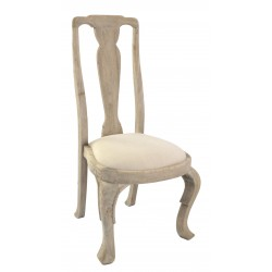 Dining Chair Tall Back Upholstered Seat - out of stock