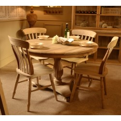 Vintage Round Dining Table - out of stock